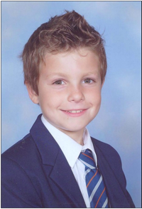 8 Year Old Joshua Aldred
