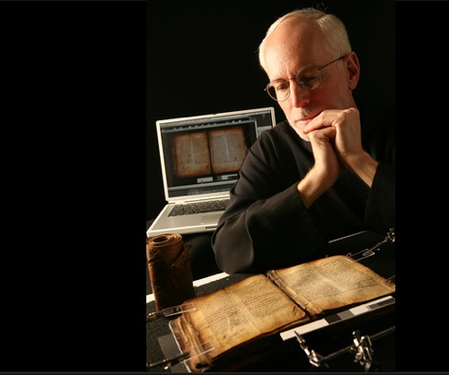 Benedictine Preserving-Ancient Manuscripts