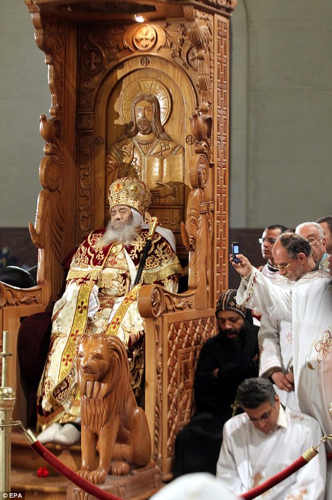 Body Pope Shenouda Coptic
