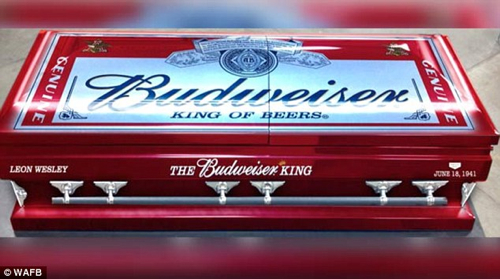  Budweiser Casket
