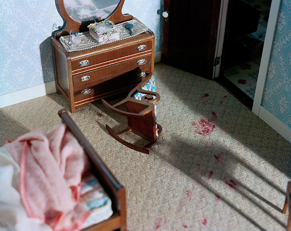 Diorama Bedroom Crime Scene