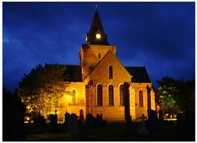  Dornoch Cathedral Floodlit
