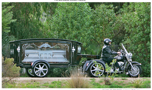  Harley Davidson Hearse