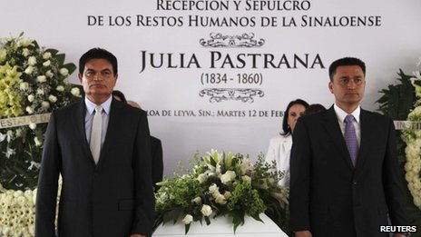  Julia Pastrana Burial