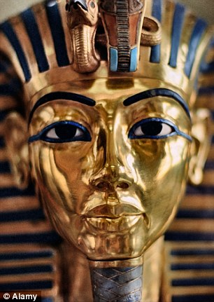 Kingtut Burial-Mask