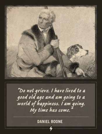 Last-Words Daniel Boone