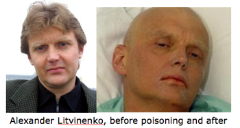 Litvinenko, Before And After Poisoning