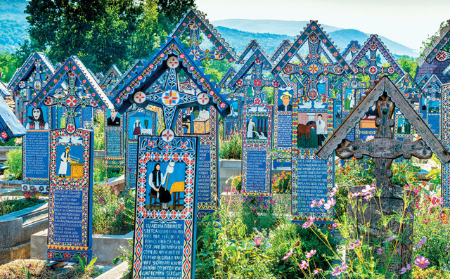 Merry Cemetery Includes Poems