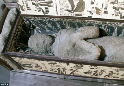 Mummy In The Attic