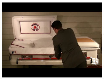  Red-Sox Casket