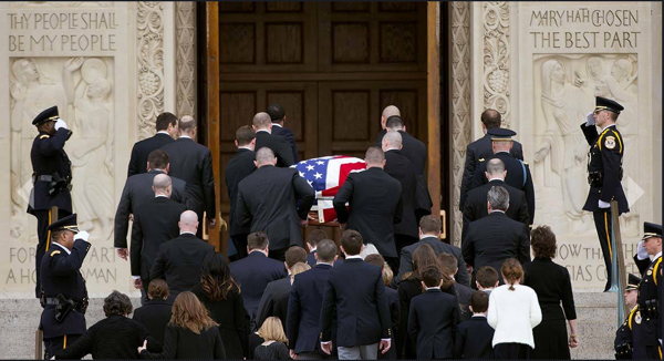 Scalia Casket Enters Basilica-1