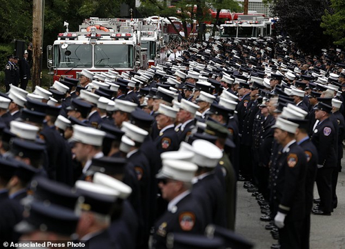 Firefighters Ambelas Funeral