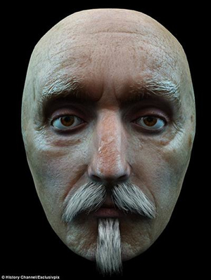 Shakespeare  Facial Reconstruction