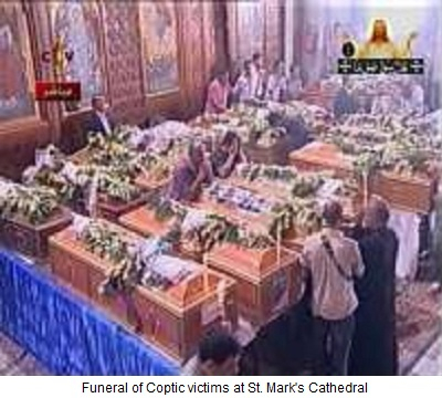  Stmarkfunerals Coptic Victims