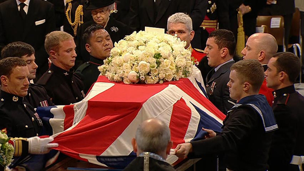  Thatcher-Funeral Casket Roses