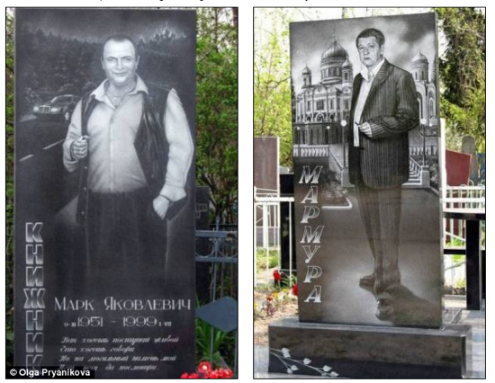 Tombstones Russian Gangsters
